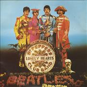 "The Beatles Sgt Peppers Lonely Heart Club Band - A Label - P/S UK 7"" vinyl Promo"
