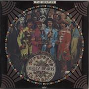 The Beatles Sgt Peppers Lonely Hearts Club Band - EX USA picture disc LP