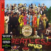 The Beatles Sgt. Pepper's Lonely Hearts Club Band UK CD album