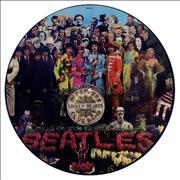 The Beatles Sgt. Pepper's Lonely Hearts Club Band UK picture disc LP