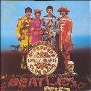 """The Beatles Sgt. Peppers Lonely Hearts Club Band Italy 7"""" vinyl"""