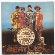 "The Beatles Sgt Pepper's Lonely Hearts Club Band - EX UK 7"" vinyl"