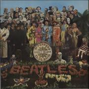 The Beatles Sgt. Pepper's Lonely Hearts Club Band Netherlands vinyl LP