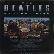 The Beatles Sgt. Pepper's Lonely Hearts Club Band - Longbox - Sealed USA CD album