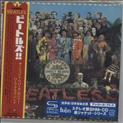 The Beatles Sgt. Pepper's Lonely Hearts Club Band Japan SHM CD
