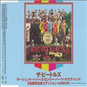 The Beatles Sgt. Pepper's Lonely Hearts Club Band Sampler + PR & Flyer Japan CD single Promo