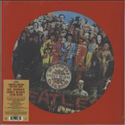 The Beatles Sgt. Peppers Lonely Hearts Club Band - Sealed UK picture disc LP