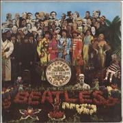 The Beatles Sgt. Pepper's Lonely Hearts Club Band Germany vinyl LP