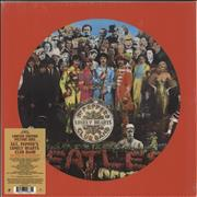 The Beatles Sgt. Peppers Lonely Hearts Club Band UK picture disc LP