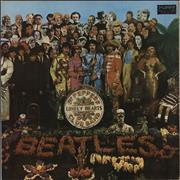 The Beatles Sgt. Pepper's Lonely Hearts Club Band Brazil vinyl LP
