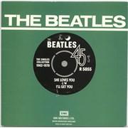 """The Beatles She Loves You - 1976 issue UK 7"""" vinyl"""