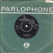 "The Beatles She Loves You - 1st - EX UK 7"" vinyl"