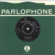Click here for more info about 'The Beatles - She Loves You - 1st - VG'