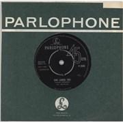 """The Beatles She Loves You - 1st - EX UK 7"""" vinyl"""