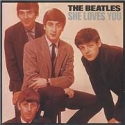 """The Beatles She Loves You - 20th - 4pr UK 7"""" vinyl"""