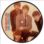 "The Beatles She Loves You UK 7"" picture disc"