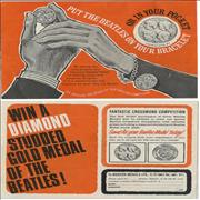 Click here for more info about 'The Beatles - Silver Medal + Original Mail Order Form'