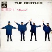 Click here for more info about 'The Beatles - ¡Socorro! - Help! - 5th Issue Dark Blue Label'