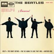 Click here for more info about 'The Beatles - ¡Socorro! - Help! EP'