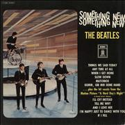 Click here for more info about 'The Beatles - Something New - Blue Label - VG'