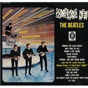 The Beatles Something New - Blue Label Germany vinyl LP