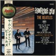 The Beatles Something New - Medallion Obi - Red Vinyl Japan vinyl LP