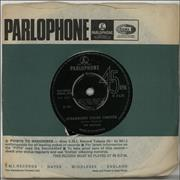 "The Beatles Strawberry Fields Forever - 1st - 4PR UK 7"" vinyl"