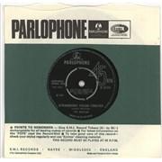 """The Beatles Strawberry Fields Forever - 1st - 4pr - EX UK 7"""" vinyl"""