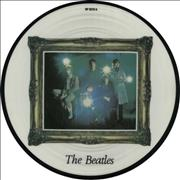 """The Beatles Strawberry Fields Forever UK 7"""" picture disc"""