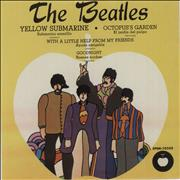 "The Beatles Submarino Amarillo - Yellow Submarine Mexico 7"" vinyl"
