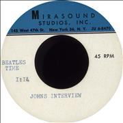 The Beatles The 1964 Ed Rudy Interviews From The US Tour USA acetate