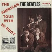 The Beatles The American Tour With Ed Rudy USA vinyl LP
