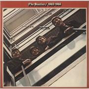 The Beatles The Beatles / 1962-1966 - 1st - VG+/EX UK 2-LP vinyl set