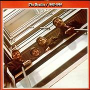 The Beatles The Beatles / 1962-1966 - Barcoded UK 2-LP vinyl set