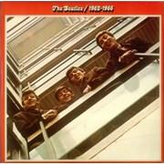 The Beatles The Beatles / 1962-1966 - Red - EX UK 2-LP vinyl set
