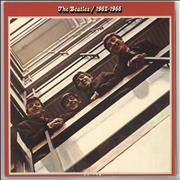 The Beatles The Beatles / 1962-1966 - Red Vinyl UK 2-LP vinyl set