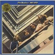 The Beatles The Beatles / 1967-1970 - 1st UK 2-LP vinyl set