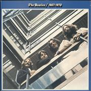 The Beatles The Beatles / 1967-1970 - Barcoded UK 2-LP vinyl set