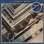 The Beatles The Beatles / 1967-1970 - Blue - stickered UK 2-LP vinyl set