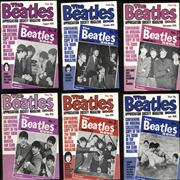 Click here for more info about 'The Beatles - The Beatles Book - 1976/7 - 1-12'