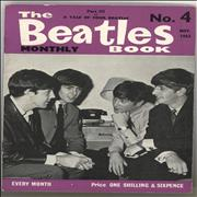 The Beatles The Beatles Book No. 04 - 1st UK magazine