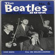 The Beatles The Beatles Book No. 06 - 1st UK magazine