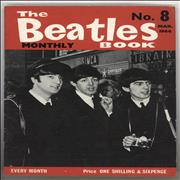 The Beatles The Beatles Book No. 08 - 1st UK magazine
