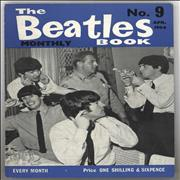 The Beatles The Beatles Book No. 09 - 1st UK magazine