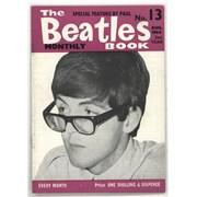 The Beatles The Beatles Book No. 13 UK magazine