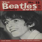 The Beatles The Beatles Book No. 15 UK magazine
