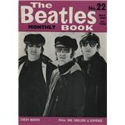 The Beatles The Beatles Book No. 22 - 1st UK magazine