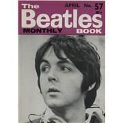 The Beatles The Beatles Book No. 57 UK magazine