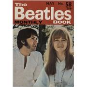 The Beatles The Beatles Book No. 58 UK magazine