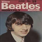 The Beatles The Beatles Book No. 59 UK magazine